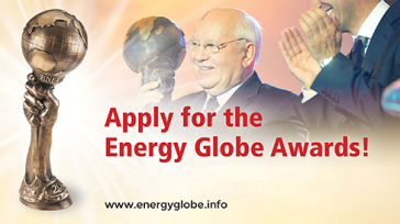 ENERGY GLOBE Award of 10,000 Euros for Environmental Projects