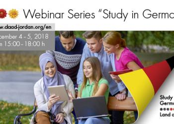 Webinar Series About Studying in Germany Presented by DAAD