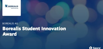 Borealis Student Innovation Award in Olefin, Polyolefin or Base Chemicals Research