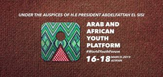 An Invitation to Attend the Arab and African Youth Platform in Egypt 2019