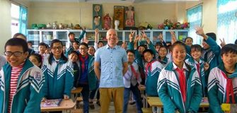 Funded Volunteer Work In Vietnam as English Teachers with Coins for Change Organization