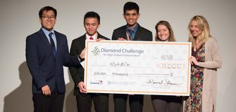Diamond Challenge for Youth in Entrepreneurship and the Opportunity to Travel to America