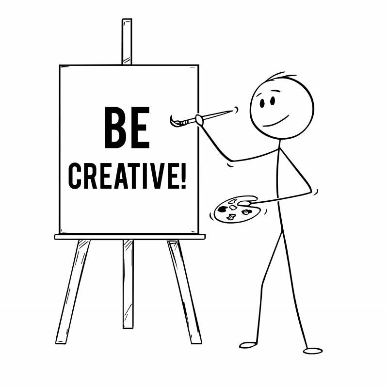Be creative in English